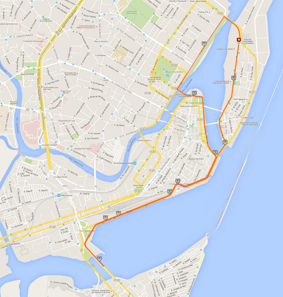 percurso-meia-maratona-caixa-do-recife